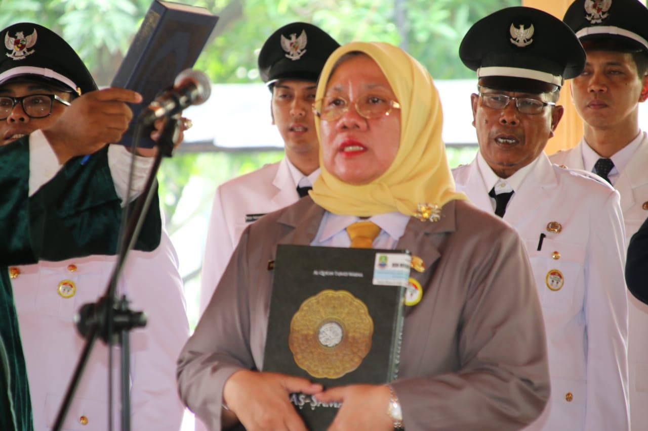 Dr. Hj. Reny Hendrawati, MM Jabat Sekretaris Daerah Kota Bekasi